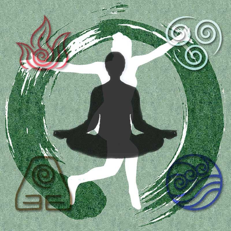 four elements logo
